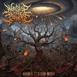 WORSHIP THE PESTILENCE - Arriving To Spread Misery CD