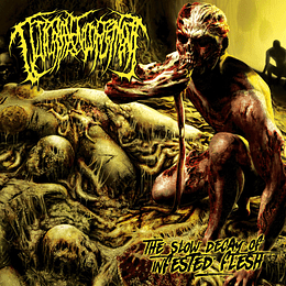 GUTTURAL ENGORGEMENT - The Slow Decay Of Infested Flesh CD