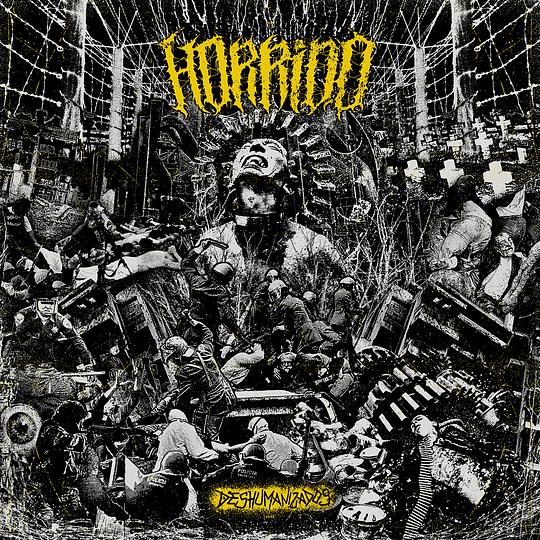 HORRIDO - Deshumanizados CD  OUT NOW