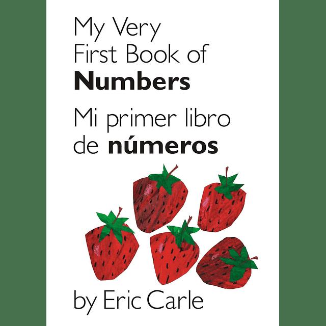 Mi primer libro de Números Versión Bilingue