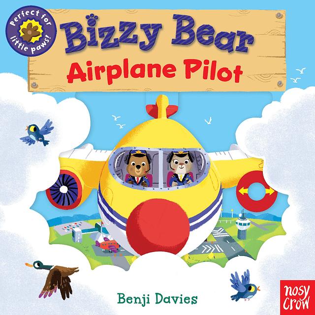 Bizzy Bear Airplane Pilot