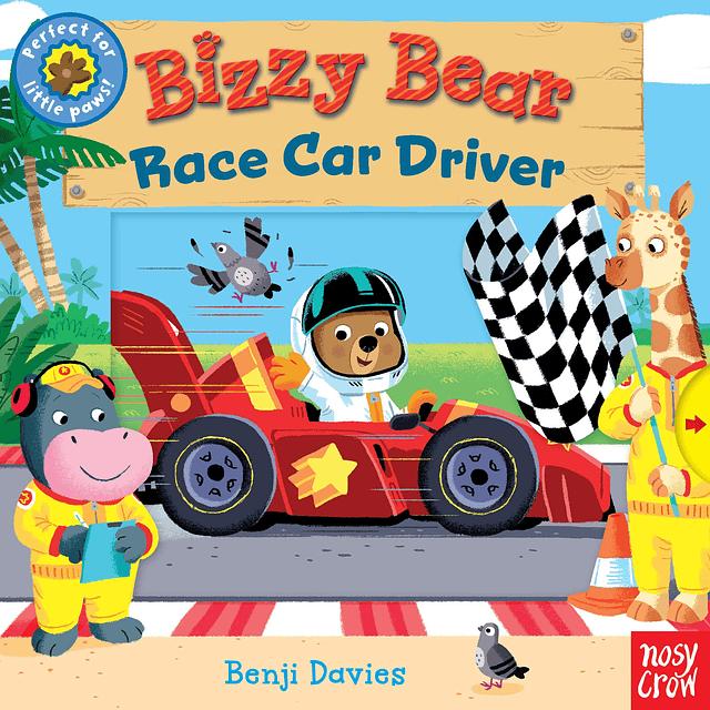 Bizzy Bear Race Car Driver