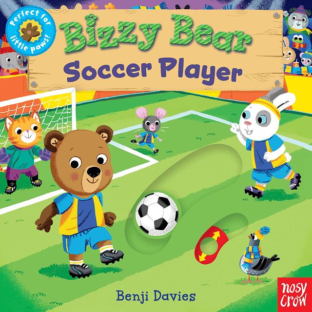 Bizzy Bear Soccer Player