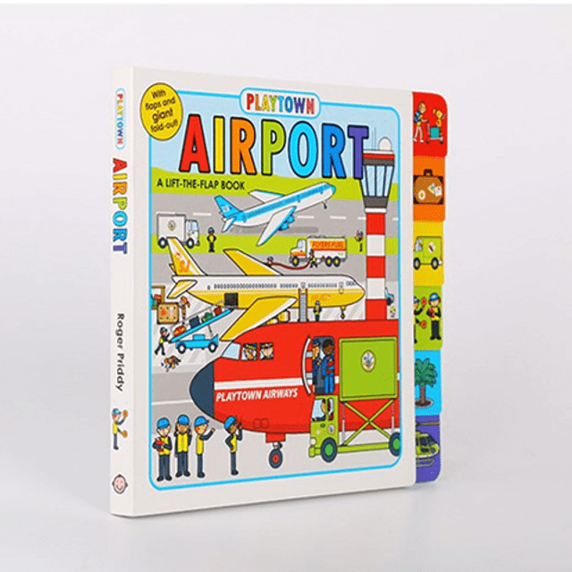 Playtown Airport Lift The Flap Book
