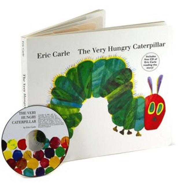 The Very Hungry Caterpillar + Cd