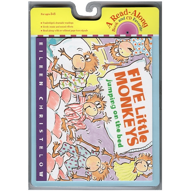 Five Little Monkeys Jumping On The Bed Cd