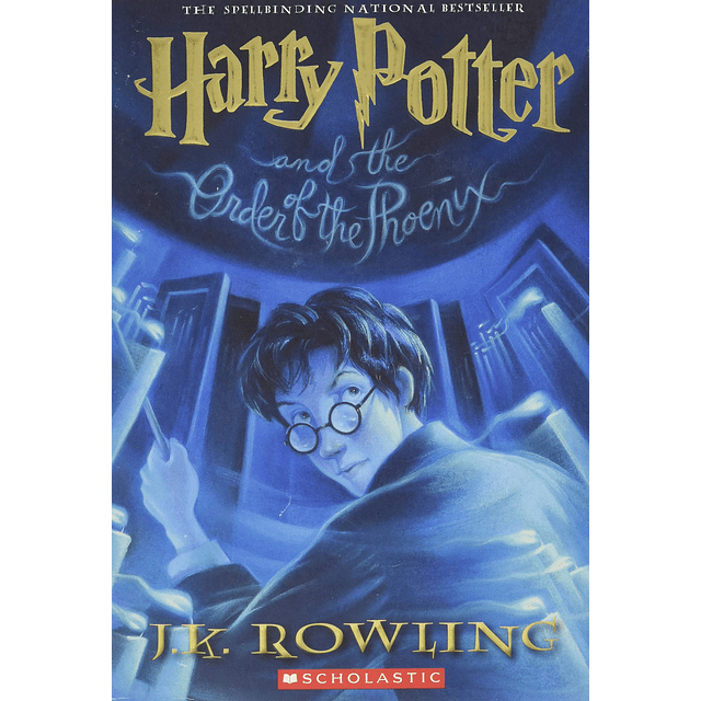 Harry Potter And The Order Of The Phoenix Book 5