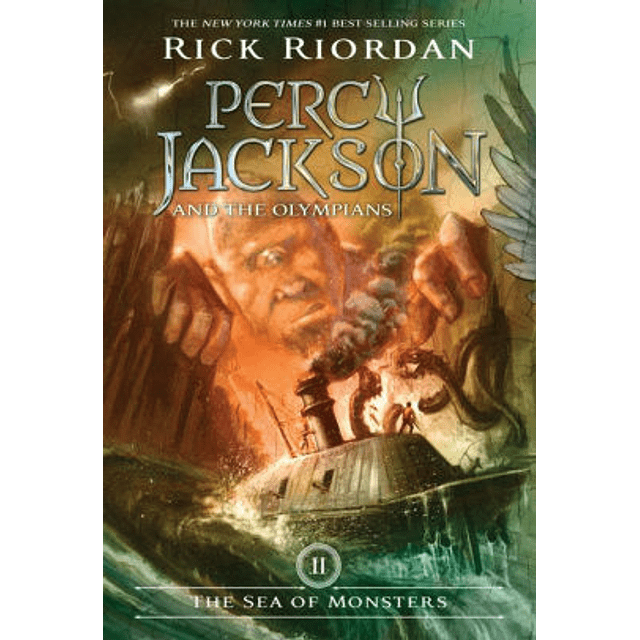 Percy Jackson And The Olympians Book 2 The Sea Of Monsters