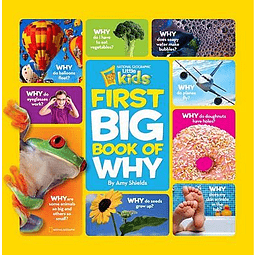 Nat Geo Kids First Big Book Of Why