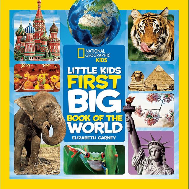 Nat Geo Kids First Big Book Of World