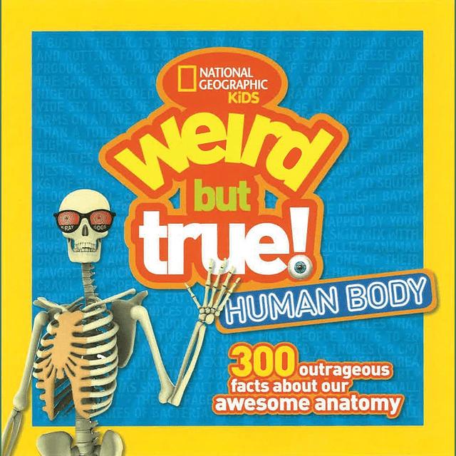 Nat Geo Kids Weird But True Human Body