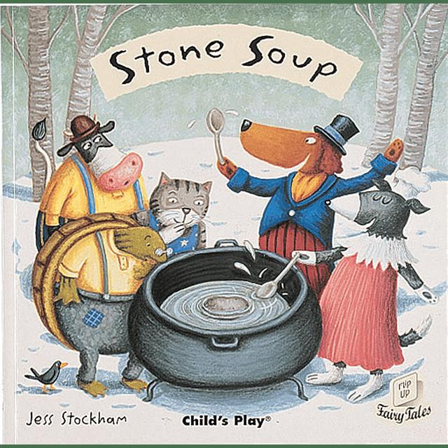 Flip Up Fairy Tales Stone Soup