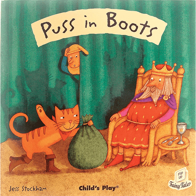 Flip Up Fairy Tales Puss In Boots