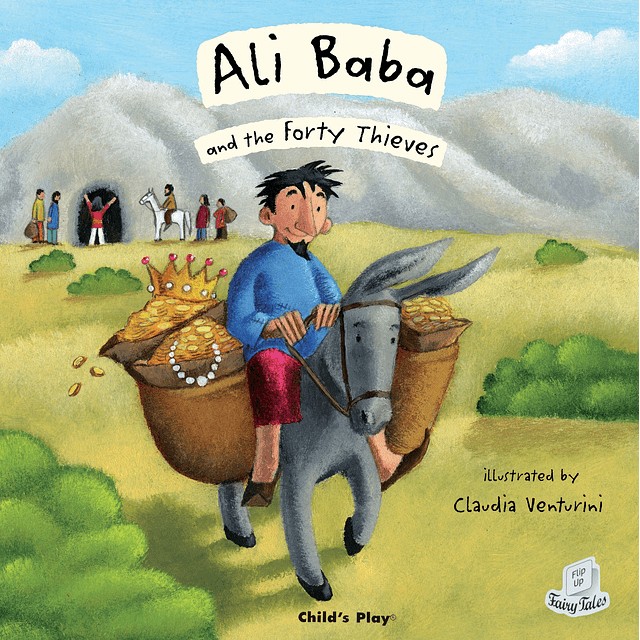 Flip Up Fairy Tales Ali Baba and The Forty Thieves