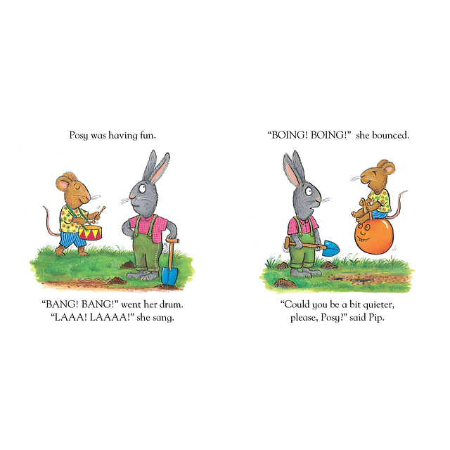 Pip and Posy and the friendly snail