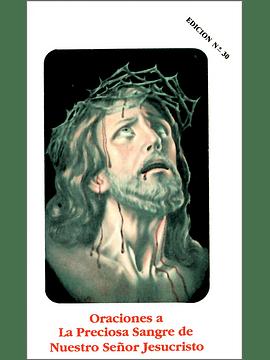 Oraciones a la Preciosa Sangre de Nuestro Señor Jesucristo