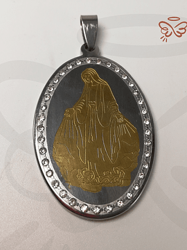 - La Milagrosa - Medalla Acero