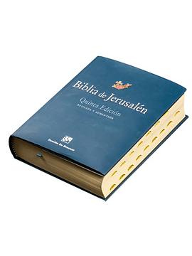 Biblia de Jerusalén (De estudio) 5ª edición