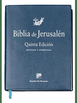 Biblia de Jerusalén (De estudio) (Tapa vinilo)  5ª edición