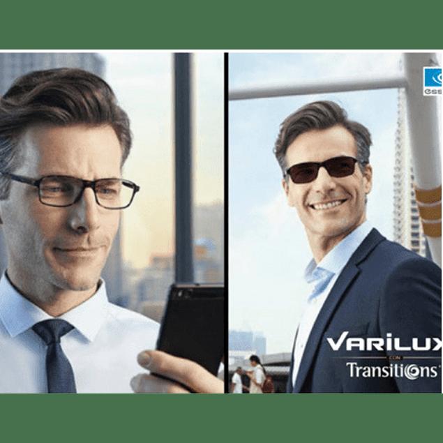 Progresivo Varilux + Transitions
