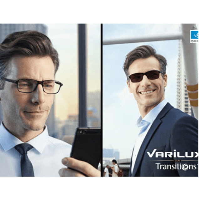 Progresivo Varilux + Transitions