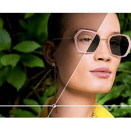 Fotosensible + anti reflejo básico (Tallado)