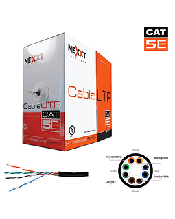 NEXXT Cable CAT 5E Solid Outdoor