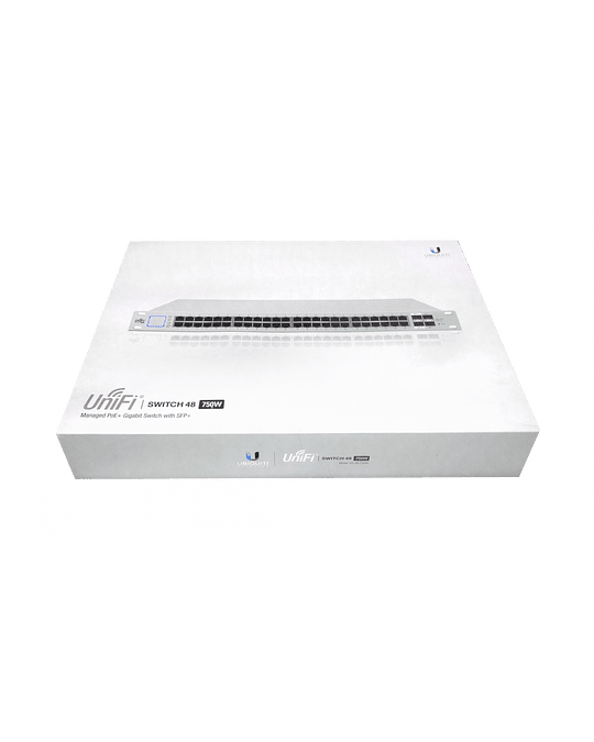 UBIQUITI Switch PoE 48P 600W Req-Server