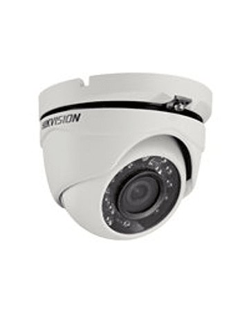 Hikvision Domo Turbo 1080p Lente Fijo 2.8mm IP66 IR 20mt