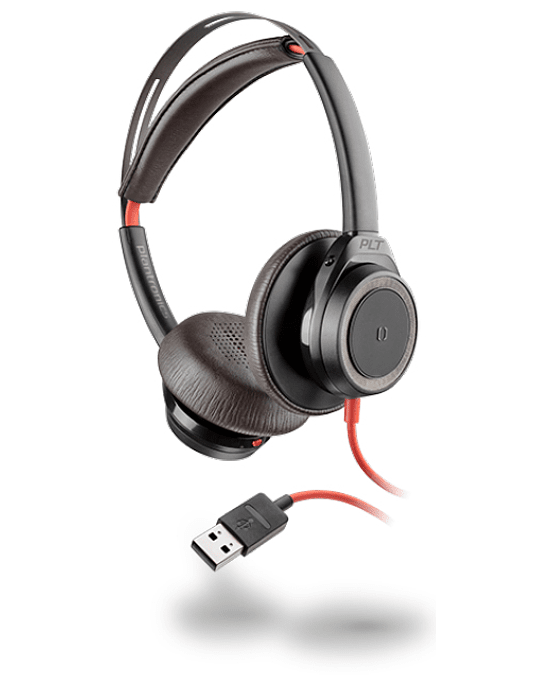 Auriculares Blackwire 7225, USB-A, Wired