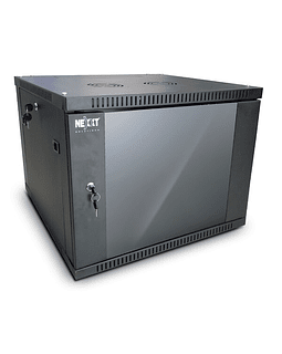 Nexxt Gabinete 9U fijo a pared W600xD600mm