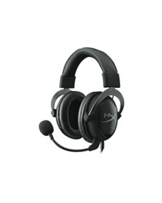 HyperX  Audifono Cloud II (Gun Metal) sonido surround V 7.1