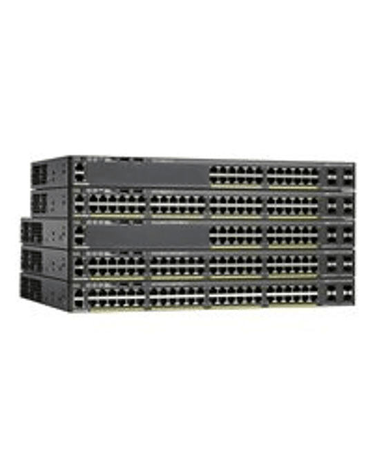 Cisco WS-C2960X-48LPD-L Switch - managed - 48 x 10/10