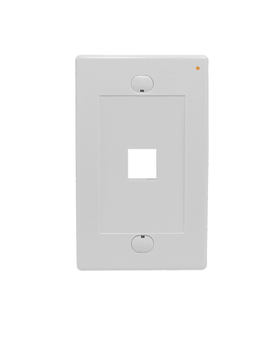 Linkmade Blanco 1-Keystone Vertical Faceplate 70x114mm