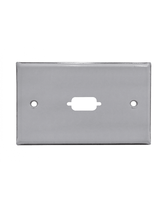Linkmade 1-VGA FACEPLATE METALICO REQUIERE/VGA-HH 70X114MM