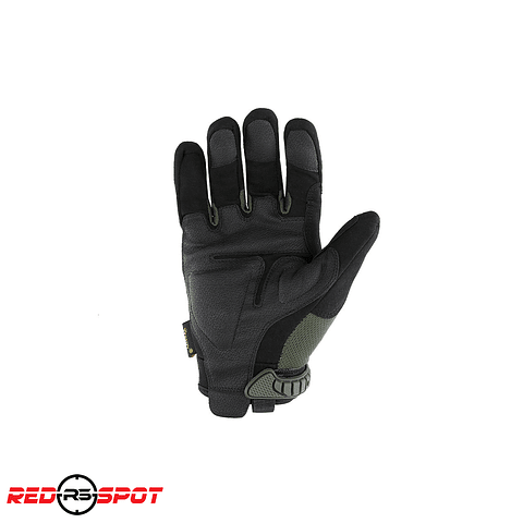 GUANTES HARDKNUCKLE  ESDY NEGRO/VERDE Talla L