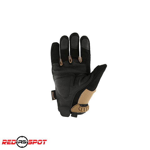 GUANTES HARDKNUCKLE  ESDY NEGRO/TAN TALLA M