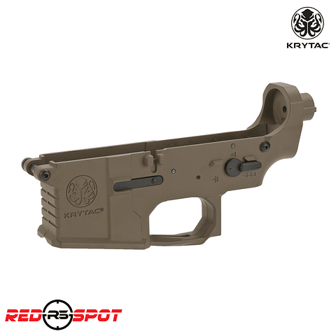 KRYTAC TRIDENT MKII LOWER RECEIVER COMPLETO FDE