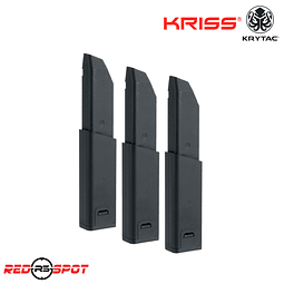 KRYTAC CARGADOR KRISS VECTOR 3 PACK