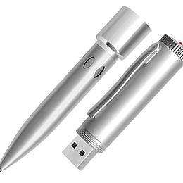Bolígrafo con Pendrive 4GB 50 unidades con logo Grabado o impreso