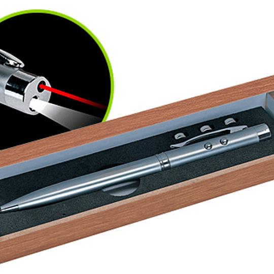 Bolígrafo Metálico 3 en 1 50 unidades grabado o impreso