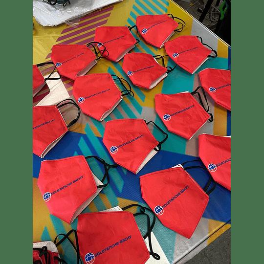 Mascarillas corporativas Full color