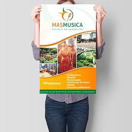 Afiches 33 x 48 cm Impresión LASER