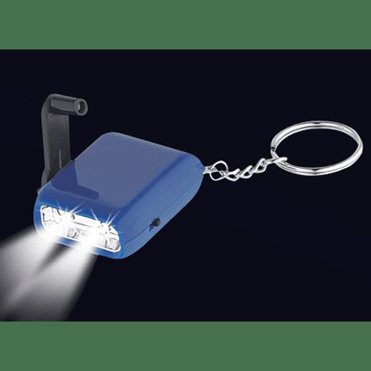 Llavero-Linterna LED Dínamo