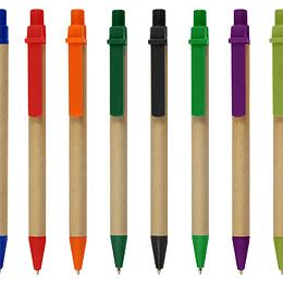 100 unidades Lapiz Ecológico con logo full color