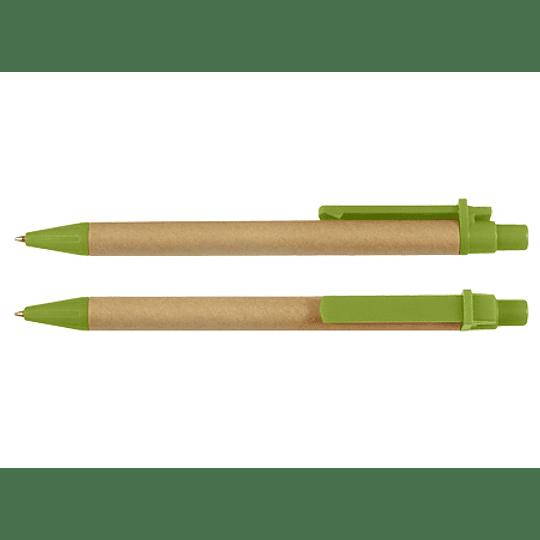 Bolígrafo Ecológico 100 unidades con logo full color