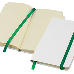 Libreta Whiteskine con logo full color