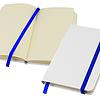 Libreta Whiteskine con logo full color