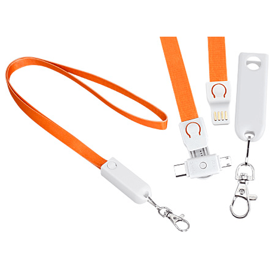Connect Lanyard Multicargador