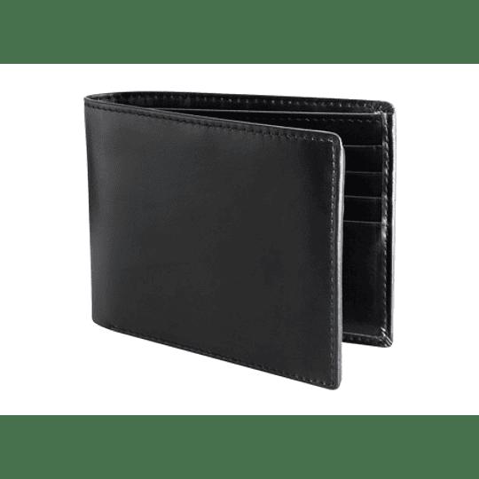 Deluxe Billetera de Cuero con logo